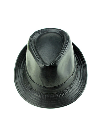 Stereotypes leather hat