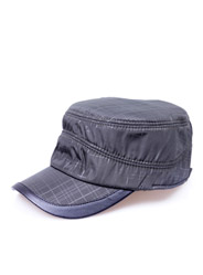 Fashion plaid flat cap