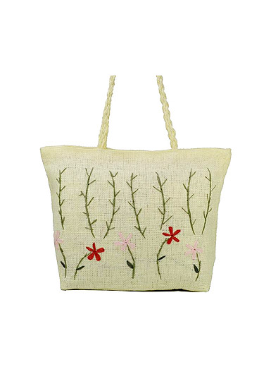 Fresh spring fresh garden wind Sen Department of ladies beach bag