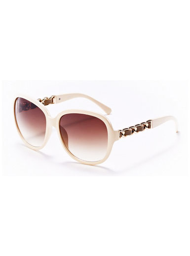 Decorative chain sunglasses