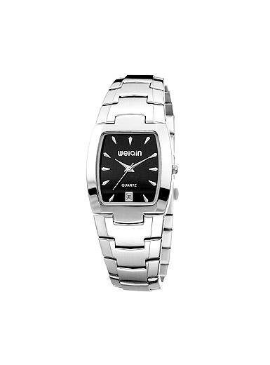 Commercial stainless steel bracelet watch