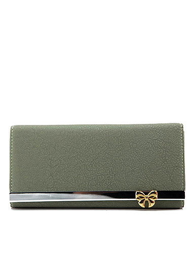 New fashion female models bow Wallet