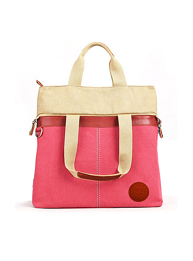 New fashion casual canvas laptop messenger bag