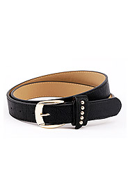 Cool fashion wild thin leather belt