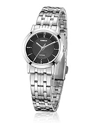 Occupation thin quartz watch Lady