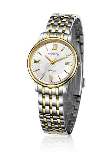 Silk thin stainless steel quartz Ladies Watch
