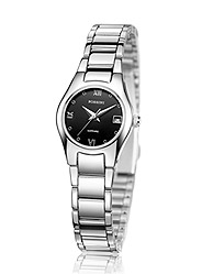 Female D'Urban Tristarc statue series stainless steel quartz Ladies Watch