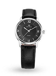 Personalized fashion casual and simple leather watch