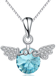 European and American new angel wings Choi Po crystal fashion exquisite pendants