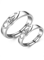 Sterling Silver Fashion Ring with