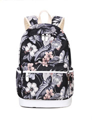 Korean version of the printing tide leisure backpack