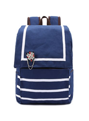 The new Navy style trend schoolbag travel bag