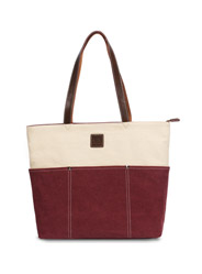 The new high-capacity brand canvas handbag