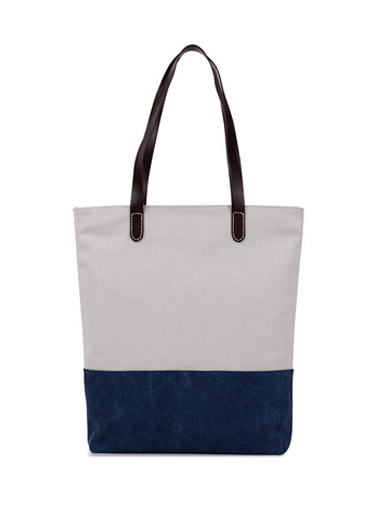 The new leisure canvas shoulder Tote handbag