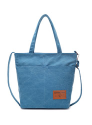 The new wild canvas shoulder Messenger Tote bag