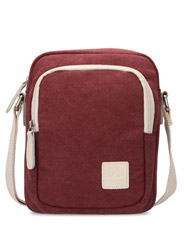 Leisure lady canvas messenger bag