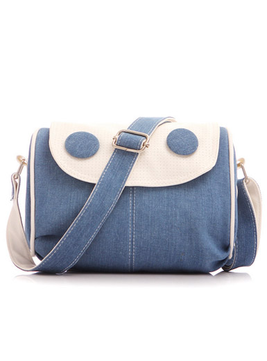 New denim Messenger bag