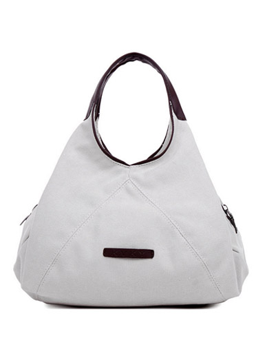 The new canvas shoulder bag diagonal handbag