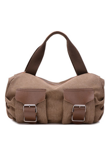 The new canvas shoulder bag