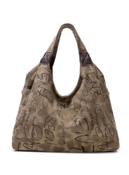The new leisure bag canvas shoulder bag