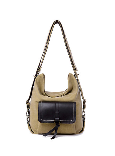Multifunctional canvas bag casual fashion vintage shoulder bag