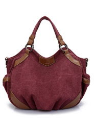 Authentic new canvas retro fashion wild shoulder bag