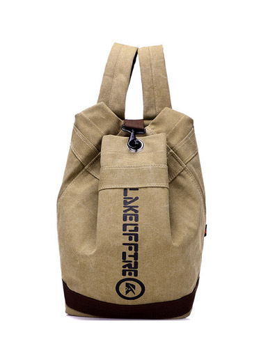 Retro shoulder canvas leisure sports travel bag