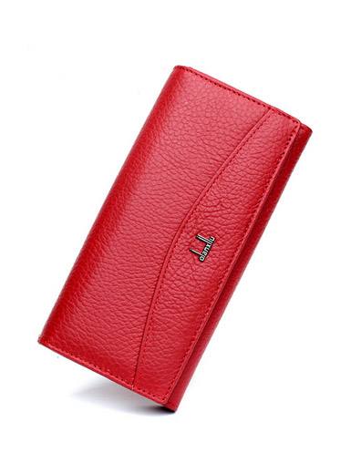 OL simplicity ladies leather wallet