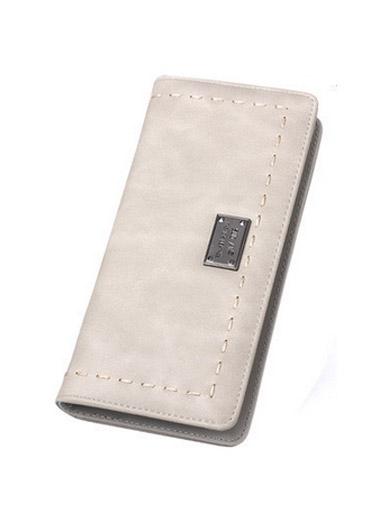 Retro women 's simple long wallet