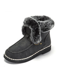 Daphne winter new flat comfort comfortable plush snow boots