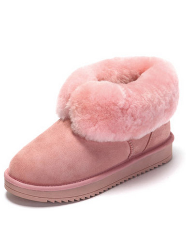 Daphne winter new comfortable flat plush shoes