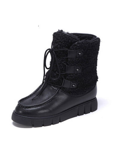 Daphne winter new style of thick casual bottom with plush snow boots