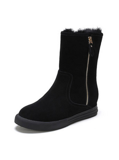 Daphne winter comfortable flat snow boots