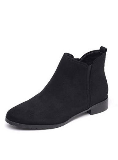 Daphne winter comfortable low with Chelsea boots