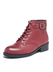 Daphne winter hot female British round head with a square root Martin boots