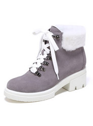 Daphne fashion scrubs short boots women 's boots plush personality Martin boots