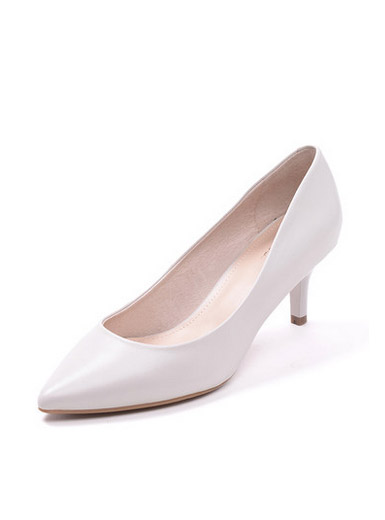 Daphne Du Lala spring new women's singles shoes, light-edged high heels pointed