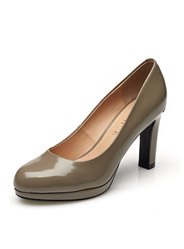 Daphne Shoppe Asakuchi women's shoes thin high-heeled patent leather commuter shoes
