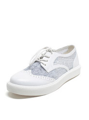 New Bullock shoes round breathable mesh casual shoes