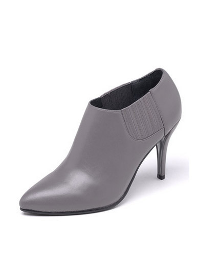 Daphne new leather fine with high heels and low ankle shoes