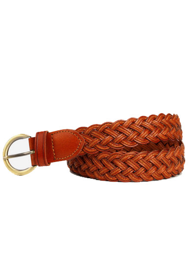 Double woven women's casual wild belt