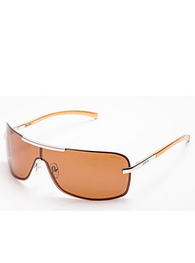 Men 's new high - grade aluminum - magnesium mirror frame polarized business cycling sunglasses wind sunglasses