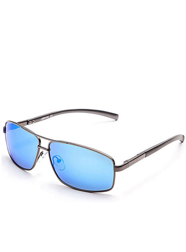 Men's new exquisite polarized metal frame sunglasses