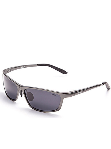 Men 's fashion full frame aluminum - magnesium polarized sunglasses