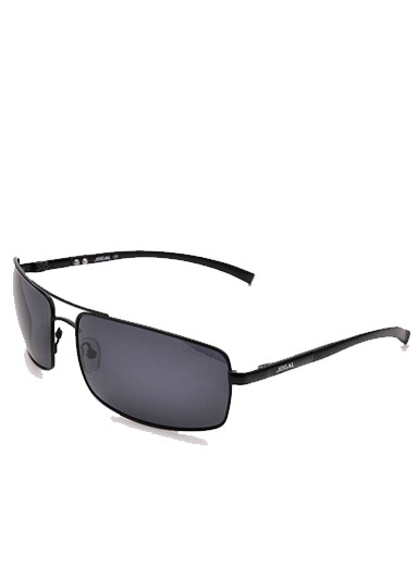 Men 's new simple fashion personality aluminum - magnesium frame sunglasses