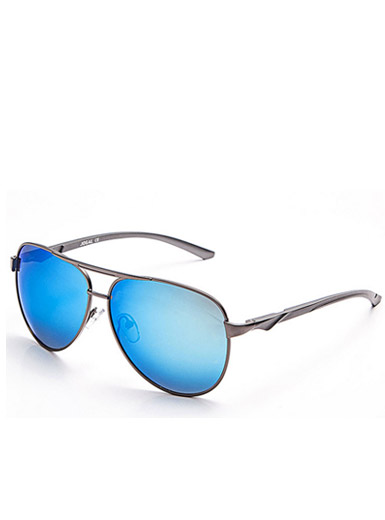 Men 's simple fashionable aluminum - magnesium retro sunglasses frame